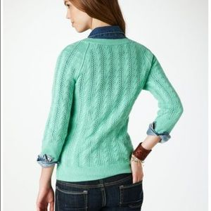 American Eagle knitted 3/4 shirt